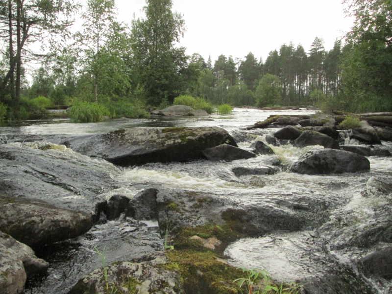 сплав по реке Онда