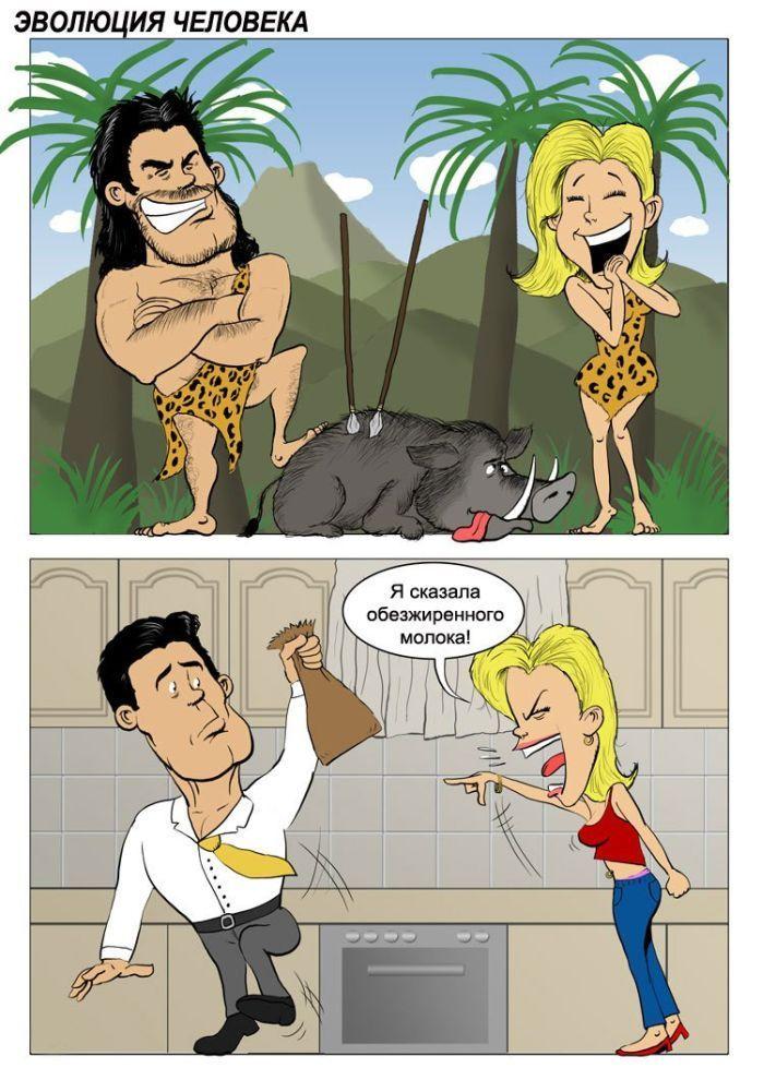 Эволюция отношений