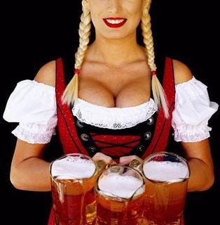 Угощение пивом