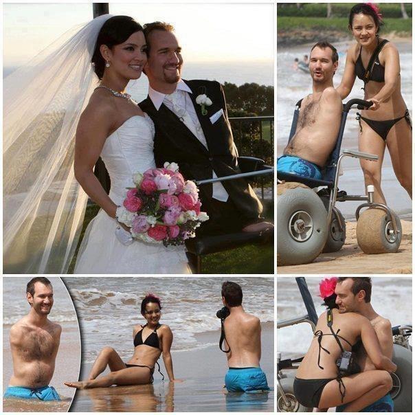 Удачно женившийся человек получает крылья